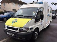 2004 Ford Transit 125 T430 Ex-Ambulance Campervan