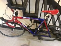 """Ridley Aedon Road racing bike 54 cm 21"""" large with a lock"""