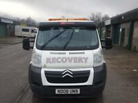 2008 Citroen relay recovery truck ONLY 68000 miles