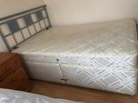 Sealy divan double bed & mattress