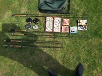 Fly fishing equipment inc.Rods and reels