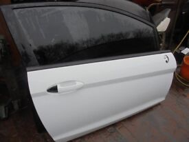 FORD FIESTA 2009-2017 OSF Drivers Door complete White or Blue