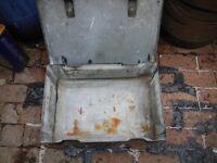 heavy duty metal tool box