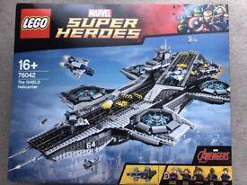 Lego 76042 - SHIELD Helicarrier. BRAND NEW. RARE. RETIRED. Marvel Super Heroes.