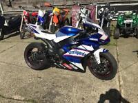 Yamaha r1 4c8 2008 track/race bike