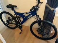 Slammer suspension mountain bike