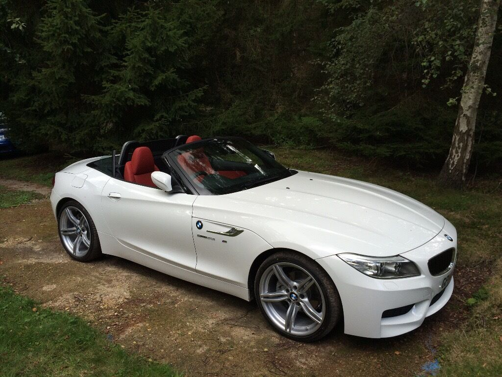 bmw z4 m sport sdrive roadster low mileage immaculate bodywork in storrington west. Black Bedroom Furniture Sets. Home Design Ideas