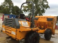 6 ton Benford forward tipping dumper