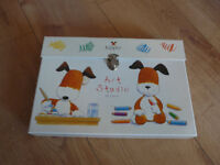 KIPPER ART SET - MAINLY UNUSED 64 pieces - in tidy carry case. BEAUTIFUL CONDITION