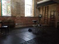 E1 industrial space for filming and photography