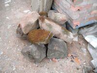 Rockery Stones, various sizes, heavy, weathered, Coventry. CV3