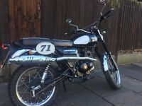 Sinnis Scrambler 125 - Learner Legal - Just Serviced - free helmet, lock and cover.