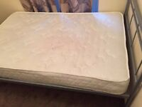 double bed mattress-2nd hand