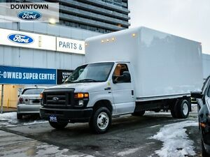 2015 Ford Econoline Base, Cube Van, Car Proof Verified