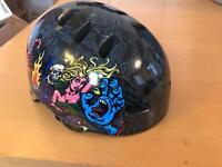 Skate safety helmet for a child