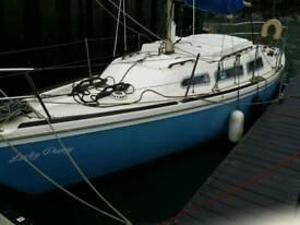 Jaguar 27 sailing boat