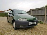 One owner Fiat Punto 1.2 sx
