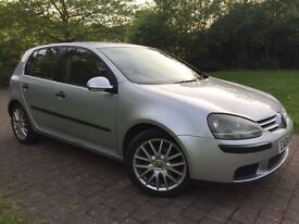 2004 Volkswagen Golf 1.9 TDI S 5dr GT Alloy wheels cheap insurance model and good on fuel HPI clear
