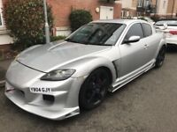 LOW MILEAGE,HPI CLEAR,2004 MAZDA RX8 231 PS,52000 MILES,FULL SERVICE FROM MAZDA,COMES WITH A NEW MOT