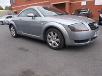 Audi TT 1.8 T Coupe 3dr LOW MILEAGE**GREAT EXAMPLE MUST SEE** TURBO ENGINE**VERY NIPPY**