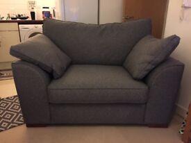 Next snuggle - grey armchair