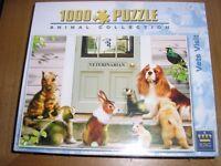 Vets visit jigsaw puzzle.