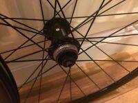 Road Wheels 700c 22mm alex rims, generic shimano hubs, disks