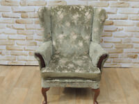 High Back Fabric wing armchair (Delivery)