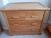Mamas & Papas Ocean Golden Oak Nursery Furniture Set