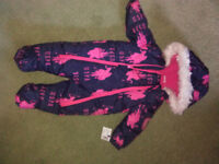 Baby snow-suit 6-9 month