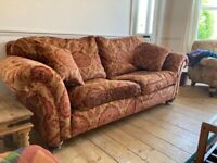Free traditional three seater sofa need gone by Friday