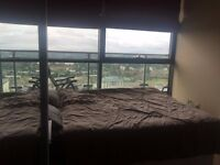 Flatshare on 20th+ floorleeds city centre, en suite bathroom, balcony