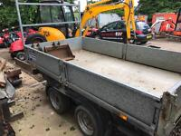 Ifor Williams TT105 G tipper trailer