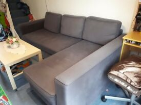 Ikea Manstad corner sofabed