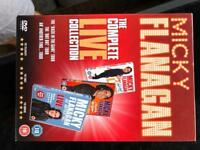 Mickey Flanagan live. 3 DVDs
