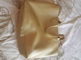Pacific rabban large gold bag new condition