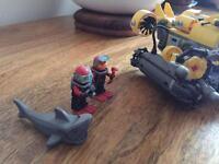 LEGO deep sea set