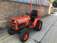 2000 kubota b1750 compact tractor, diesel, hydrostatic drive ready for work