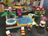 Lego friends heart lake city pool 41008