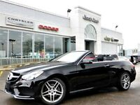 2014 Mercedes-Benz E-Class E350 Convertible Leather Nav 3D Cam H