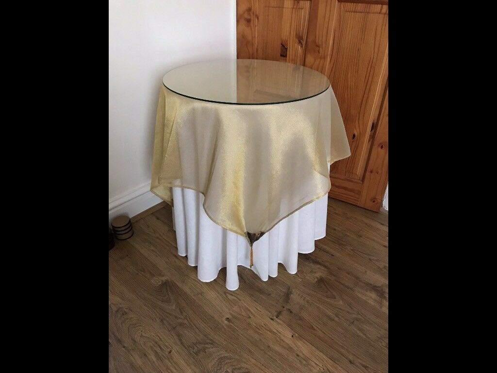 LAMP SIDE TABLES x 2