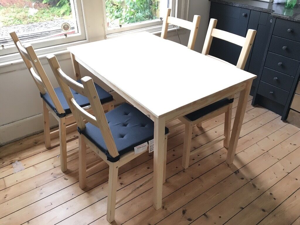 Ikea Ingo Solid Pine Untreated Dining Table New And Unused 120cm X