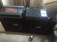 JBL Woofer With 2 AMPS - LOUD !!!