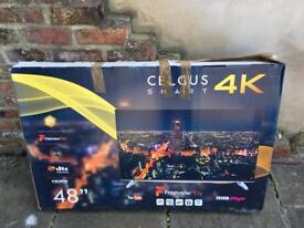 """48"""" Smart TV 4K - broken screen"""