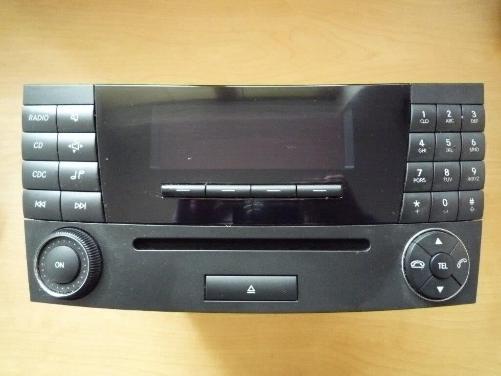 MERCEDES BENZ E220 EXECUTIVE CDI HEAD UNIT