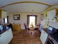 Luxury Caravan to rent in Golden Sands Holiday Park Rhyl .