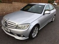 MERCEDES C220 SPORT CDI AUTO 57 PLATE 60,000 MILES DIESEL HISTORY