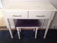 Dressing Table & Matching Stool