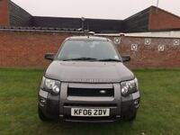 Land Rover Freelander 2.0 TD4 Adventure 5dr 2006 SUV 120,300 miles Automatic 1951cc Diesel+HPI Clear