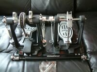 Double Bass Drum Pedal by Pearl with Carry Case